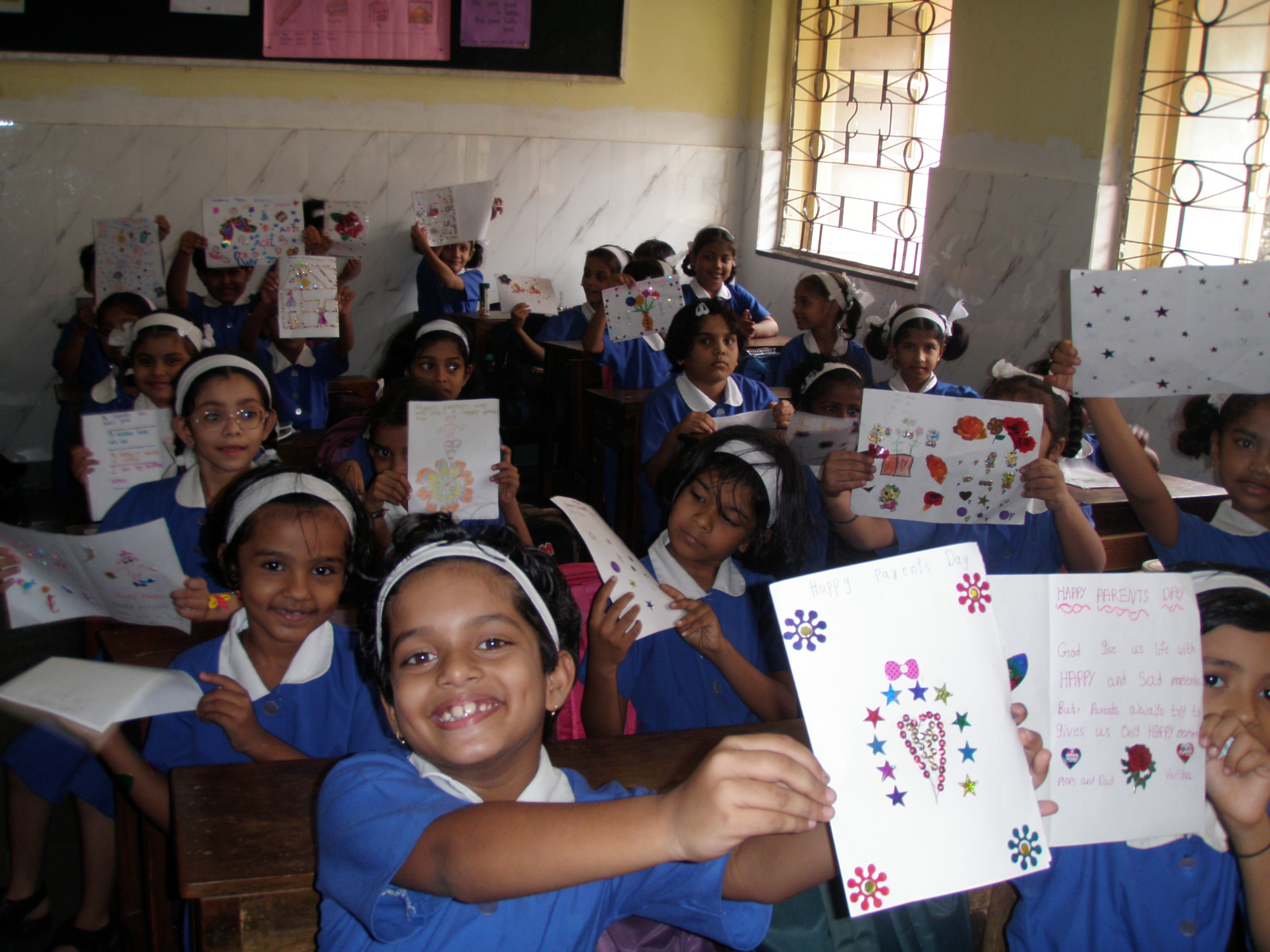 Greeting Card Competition Canossa Convent Primary School